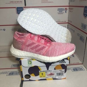 Women's Adidas Pure Boost GO Solar Pink